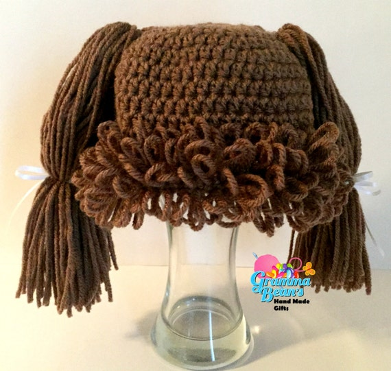 Cabbage Patch Inspired Hat pattern