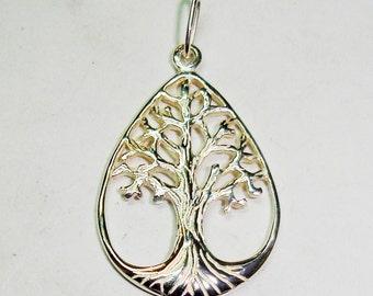 Silver Life Tree Pendant