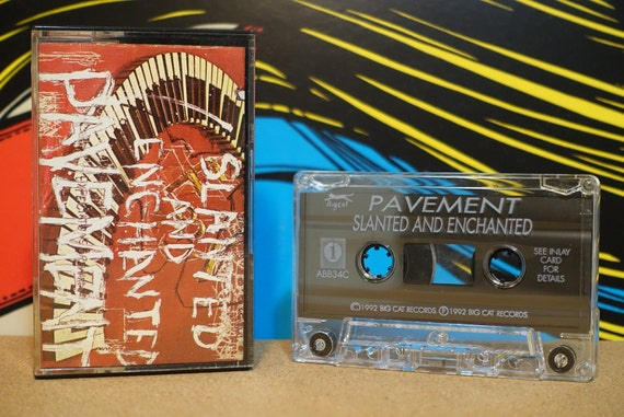 Slanted And Enchanted by Pavement Vintage Cassette Tape
