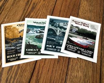 Washington DC Notecards - Set of 4