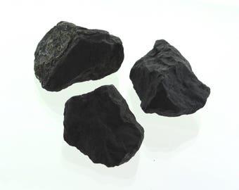"""Shungite  """" Stone of Life"""" Raw Stone (2 Pieces)  Elite Noble Stone Healing Crystal, Rejuvenation Purification Energy Balancing"""