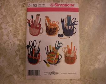 Simplicity Cup Organizer Pattern