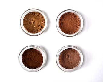 Natural eyebrow powder, eyebrow makeup, all natural and vegan makeup.