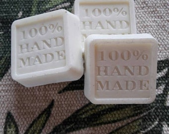 Trio of 100% olive oil soaps unscented
