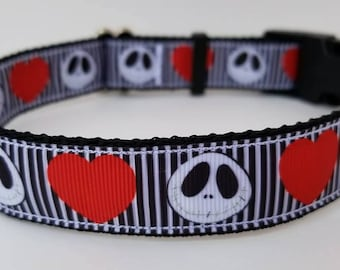 Jack Skellington Dog collar