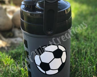 Personalized Soccer Water Jug