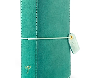 Aspen Green Suede POCKET TN Color Crush Webster's Pages Travelers Planner (TN001-GSU)