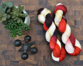 Fawkes - Sock Weight Hand Dyed Yarn