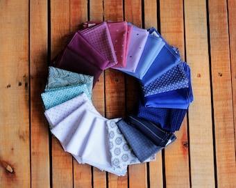 HANDMADE HANDKERCHIEFS. Set of 3 100% cotton handkerchiefs