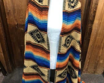 Ultra fine very soft acrylic Sante Fe shawl