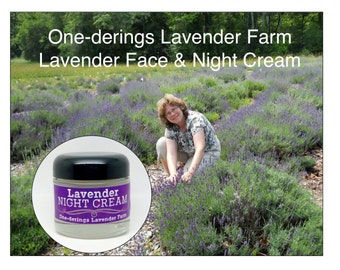 Lavender Cream-Gentle, soothing, relaxing and renewing for face