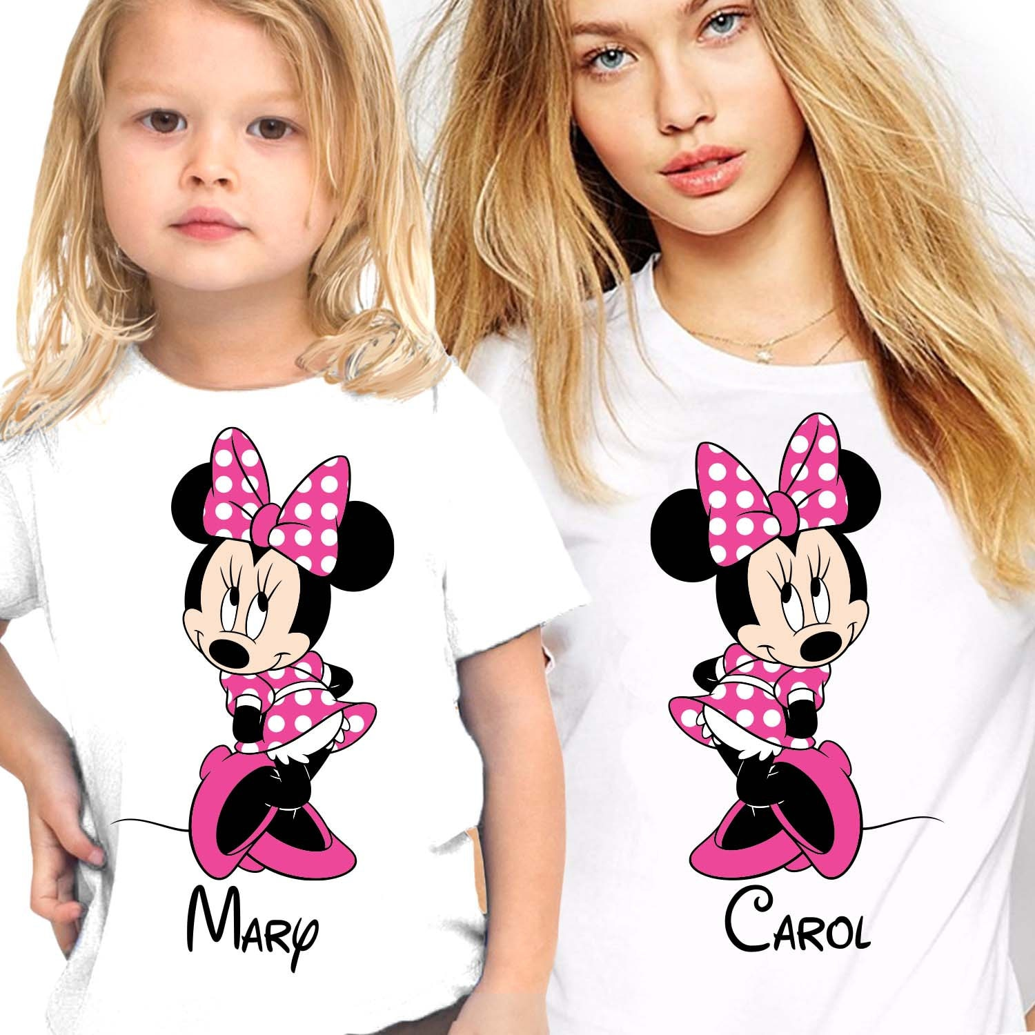 Personalized Mommy and Me Disney shirts Disney matching