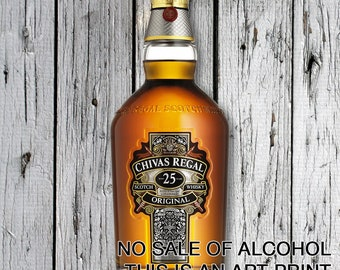 Chivas Regal 25 Years Print