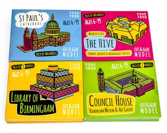FoxeTroo Kits SAVE 25% Value Pack || St Paul's Cathedral || Birmingham Council House || Library of Birmingham || The Hive || Stocking Filler