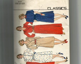 Butterick Misses' Dress Pattern 4600