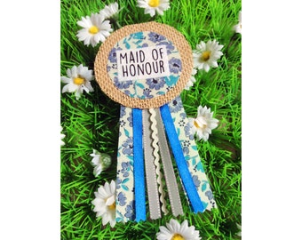 Maid Of Honour Hen Party Badge