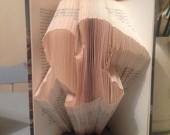 Book Folding Pattern Angel Baby