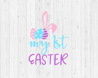 My first Easter, Easter egg svg, my first Easter SVG, instant download, digital download, cut file, Easter, svg, baby svg, newborn svg