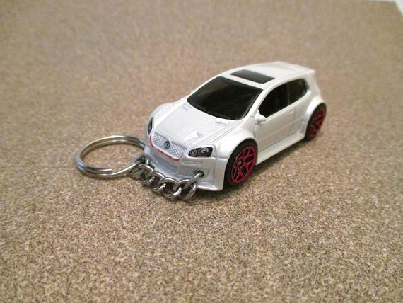VW Golf GTI Keychain Volkswagen Keychain Sports Car