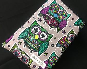 Indie Colorful Owl Sleeve