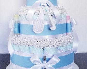 Baby Boy diaper cake