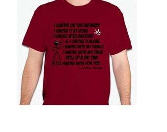 Mary Jane Smoke shirt-L.I.B.Dam Designs