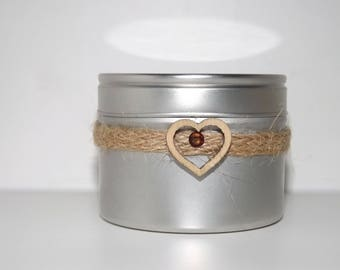 Coffee Lovers Scented Soy Container Candle.