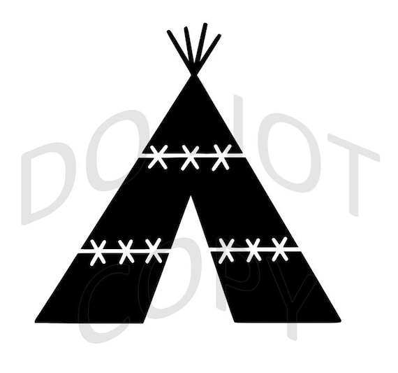 Reusable Stencil Teepee Many Sizes To Choose From From