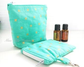 Mini Essential Oil Bag, Small essential oil bag, Essential Oil Pouch, Essential Oil Travel, Mother's Day, Essential Oil Storage . . .