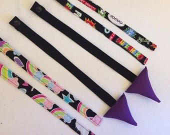 Reach straps for your Jax TULA - (Placement varies)  Many other fabrics available.  Just ask!