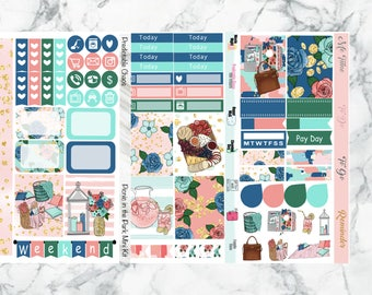 Picnic in the Park Mini Kit, planner stickers