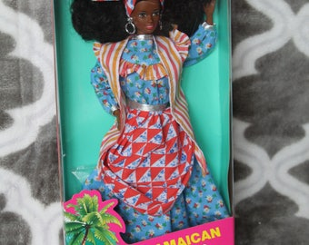 1991 Barbie Dolls of the World Jamaica Jamaican # 4647