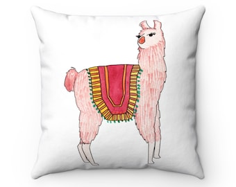 Alpaca Double Sided Pillow