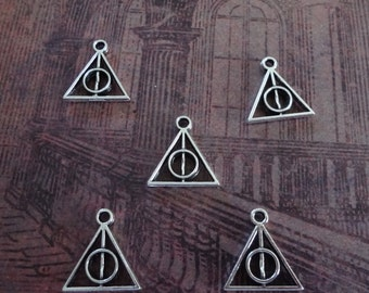 5 - Harry Potter like Charms - 12mm x 13mm