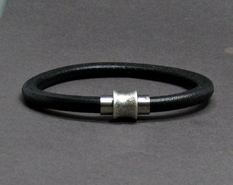 NEW DESIGN Mens Bracelet Stainless Steel Leather Bracelet For Men, For Husband,  For Boyfriend, Boyfriend Gift, Customised On Your Wrist