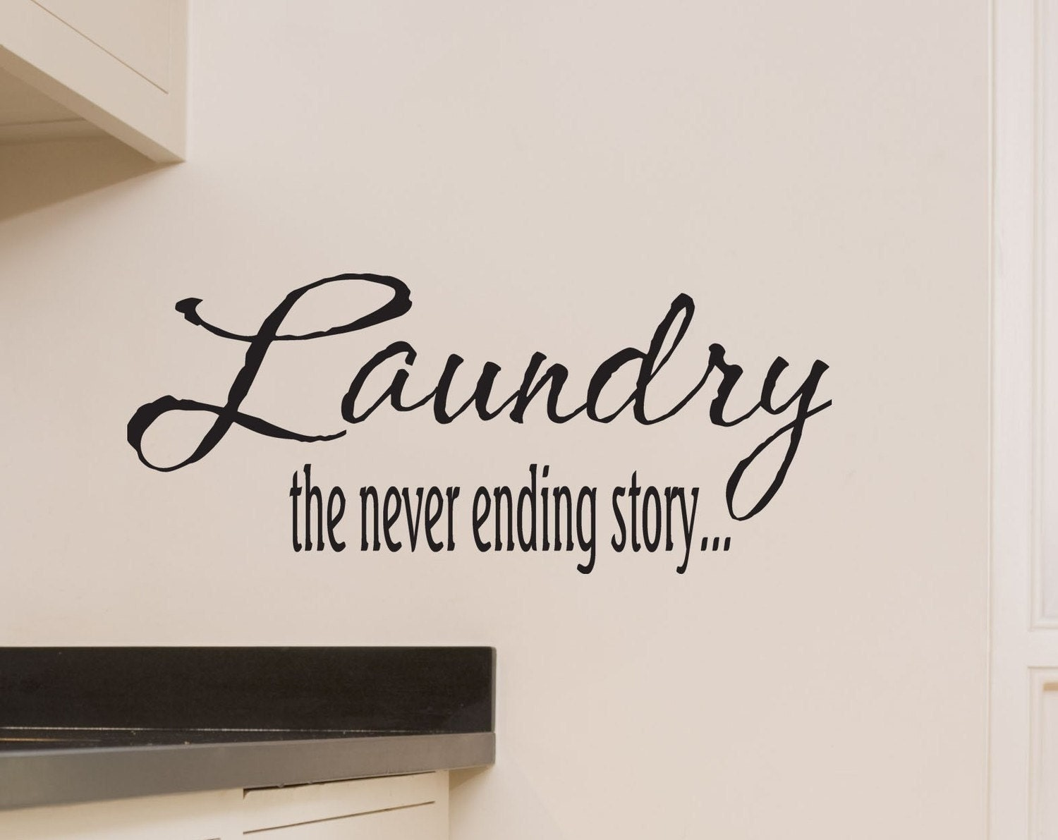 Laundry Decal Wall Decor New Laundry Room Wall Decal Laundry The Never Ending Story Wall Review