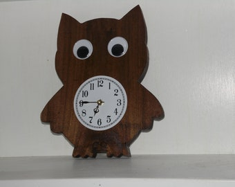 Owl Clock, kitchen, kids room