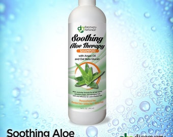 Soothing Aloe Therapy Natural & Organic Shampoo