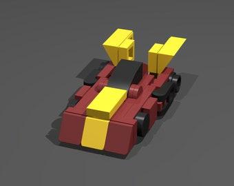 LEGO Micro Gen1 Hot Rod - No Parts