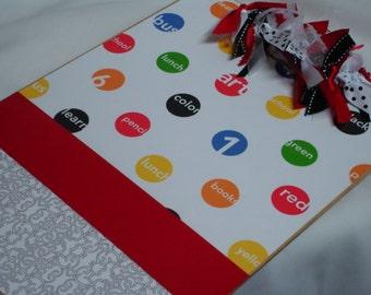 Sale TEACHER CLIPBOARD Colored Dots