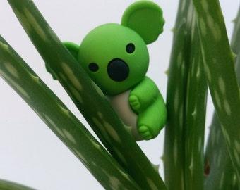 Green Koala Novelty Eraser