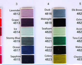Scanfil Organic Cotton Sewing Thread 300 yds Any Color