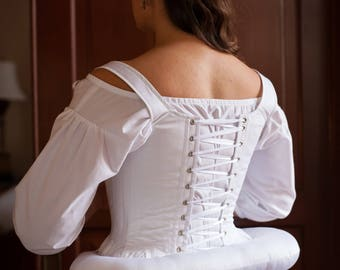 18th Century Bum Roll - Ready to Ship Historical Georgian Bum Padding Skirt Support 1700's 1740's Elizabethan Costume Underpinning 16th C