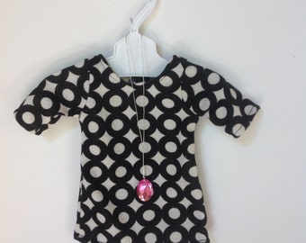 Doll Clothes - Dress with Necklace