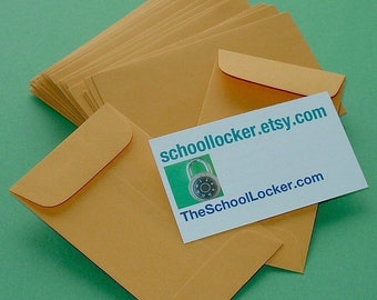 little kraft envelopes / 24 pieces