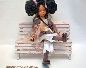 Handmade Doll/Soft Doll/Unique Doll/Art Doll/Housewarming gift/Textile Doll/Collection doll/Custom Doll,Doll for girls,3D face