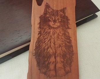 Sony Xperia Z3 Nature Custom Design  | CAT | Natural Wood Phone Case