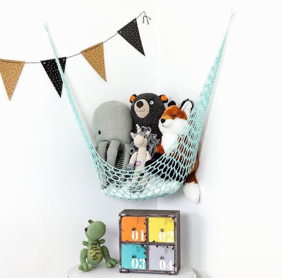 sc 1 st  Etsy & Toy Hammock Toy Storage Stuffed Animal Storage Stuffed
