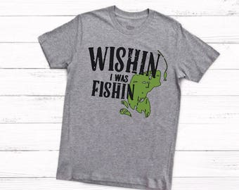 1978 Garfield Wishin i was fishin shirt UfH5tFu