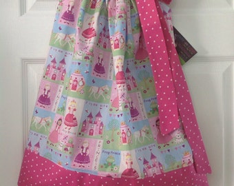 Ready to Ship! Size 4 Fairytale Princess Pillowcase Dress